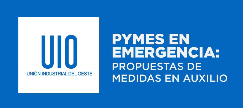 PYMES EN EMERGENCIA:  PROPUESTAS DE MEDIDAS EN AUXILIO