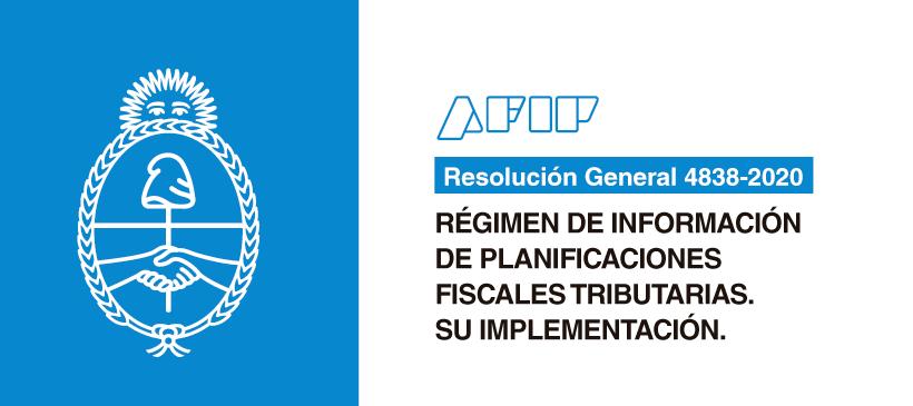 AFIP: Régimen de información de planificaciones fiscales tributarias. Su implementación.