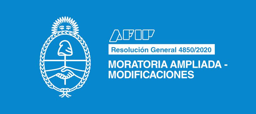 AFIP: Moratoria ampliada – Modificaciones