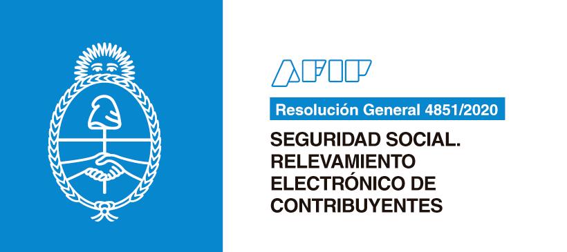AFIP: Seguridad Social. Relevamiento Electrónico de Contribuyentes