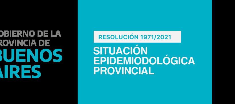 Gobierno de Buenos Aires: Situación epidemiológica provincial