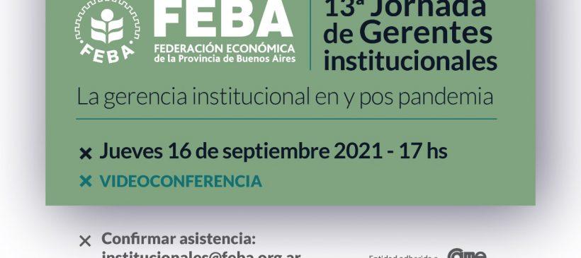 FEBA: Jornada de Gerentes Institucionales